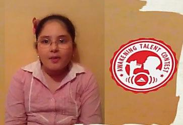لبنى  طفلة من الناظور في ربيعها العاشر تشارك في مسابقة عالمية للإنشاد الإسلامي