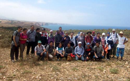 جمعية مدرسي علوم الحياة و الأرض تنظم خرجة استكشافية لمنطقة رأس الماء