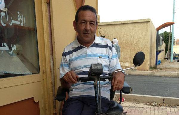 نداء عاجل الى المحسنين وذوي القلوب الرحيمة لمساعدة شخص ليتحدى اعاقته الجسدية