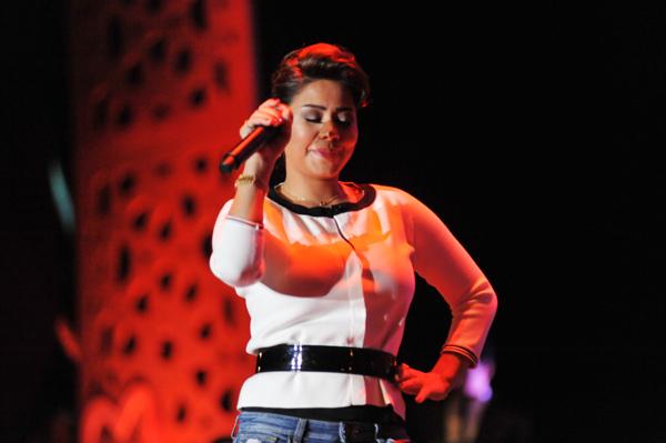 شيرين تغني يا بنت بلادي في ثاني فعاليات موازين ايقاعات العالم