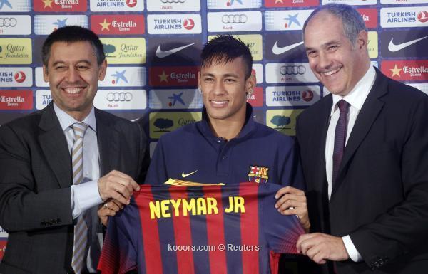 نيمار يصل برشلونة :    المؤتمر الصحفي الكامل لنيمار