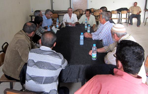 ضحايا 1984 بميضار في لقاء تواصلي تمهيدا لتأسيس فرع للمنتدى المغربي من أجل الحقيقة والإنصاف