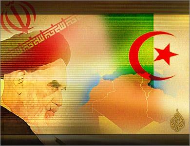 إتصالات مشبوهة و زيارات سرية لقادة الجيش الثوري الإيراني للجزائر.