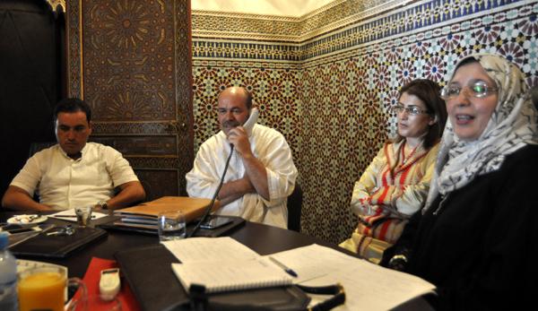 الداعية عبد القادر شوعة يبارك العيد و المهرجان المتوسطي من المجلس الاقليمي
