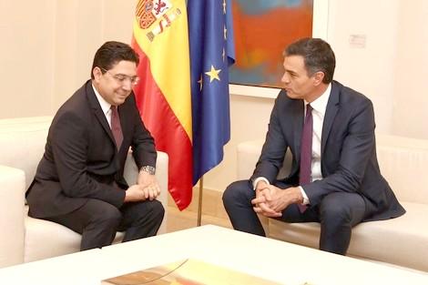 """سانشيز يكشف أن هناك """"تحركات سرية"""" لإعادة العلاقات بين المغرب وإسبانيا"""