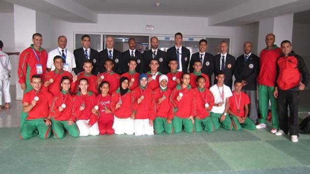 تتويج لأبطال المنتخب المغربي وتألق متميز في البطولة الإفريقية