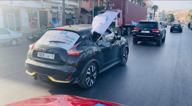 خطير : محسوبون على حزب الاتحاد الاشتراكي يعتدون على انصار الحمامة بالحجارة والسيوف