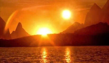ظاهرة غريبة : شمسان ساطعتان فوق الأرض