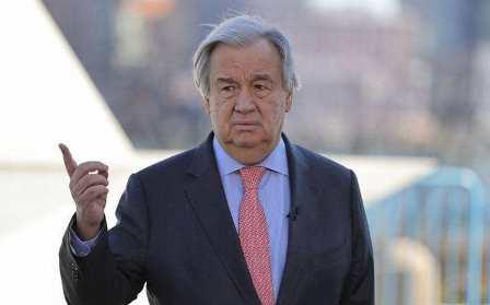 """غويتيريس: """"البوليساريو"""" لا تتمتع بأي وضع قانوني لدى الأمم المتحدة"""