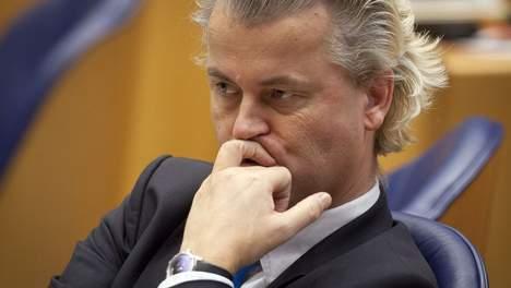 بلاغ كاذب يكشف سياسة شفير الهاوية او ثقافة الكراهية ضد المغاربة عند زعيم حزب الحرية الهولندي خيرت فيلدرز.