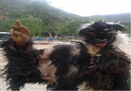 بويرماون او بوجلود ثرات مغربي امازيغي أصيل يتجدد كل عيد أضحى