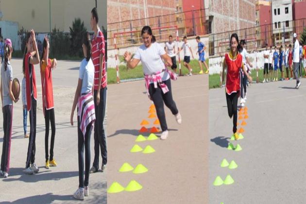 التسجيل في التمارين الرياضية لفئة الإناث مفتوح في وجه جميع التلميذات التي تتراوح أعمارهم بين 09 سنوات إلى 17 سنة،