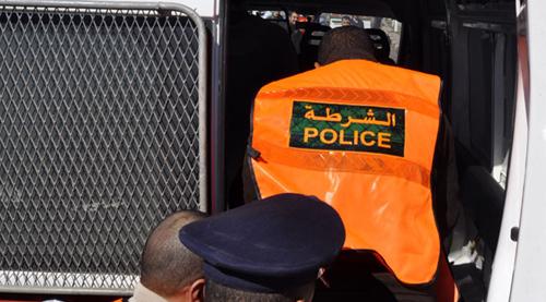 اعتقال شخص يبلغ من العمر 39 سنة رفقة قاصر في 14 من عمرها بشبهة الفساد اثر مداهمة منزل بحي لعراصي