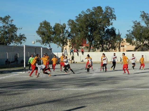 فريق نهضة سلوان ينتصر على فريق اتحاد الدريوش بهدف لصفر ويلتحق بالمركز الثاني