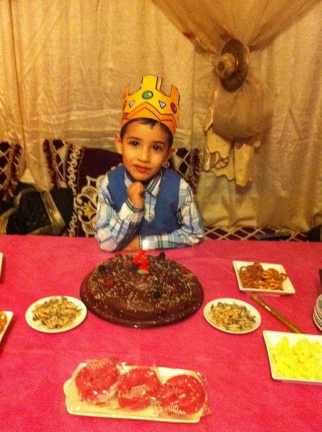 تهنئة للزميل طارق الشامي بمناسبة اطفاء ابنه للشمعة الرابعة
