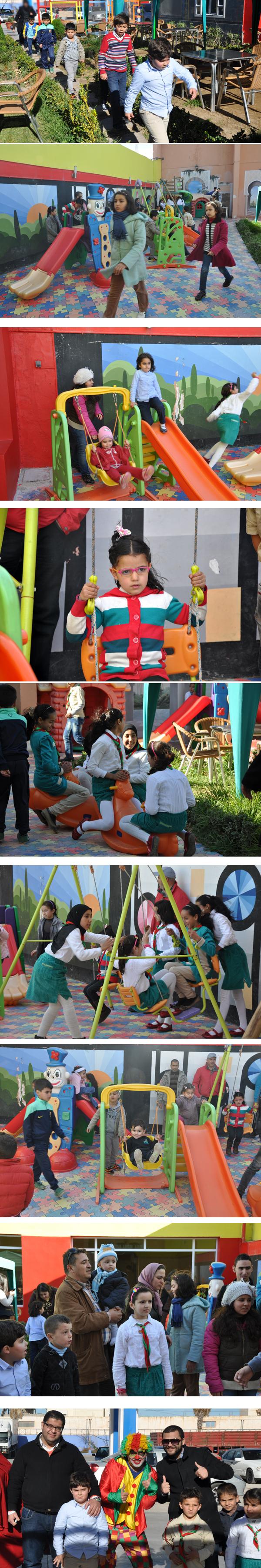 """افتتاح الأيام التنشيطية الخاصة بالأطفال  بفضـاء الإستراحة """" ميــﯖــا فــول """""""