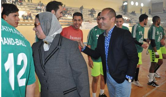 التونسي بنمسعود يقود يد هلال الناظور لتحقيق انتصار صعب على حسنية كرسيف