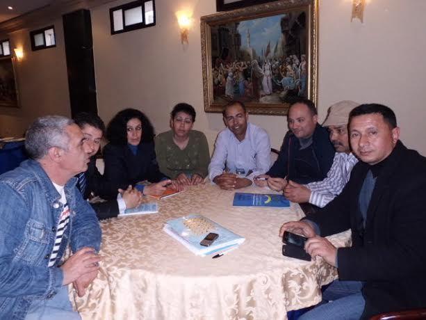 بلاغ عن اجتماع المكتب الدولي للكونغرس العالمي الأمازيغي و سكرتارية الفيدرالية الوطنية للجمعيات الأمازيغية