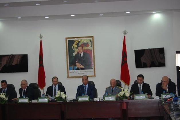 وزير الداخلية يترأس اجتماعا أمنيا بولاية الحسيمة