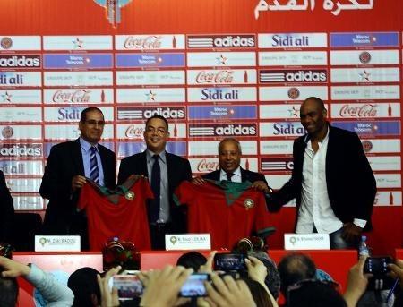 الزاكي رسميا مدربا للمنتخب المغربي