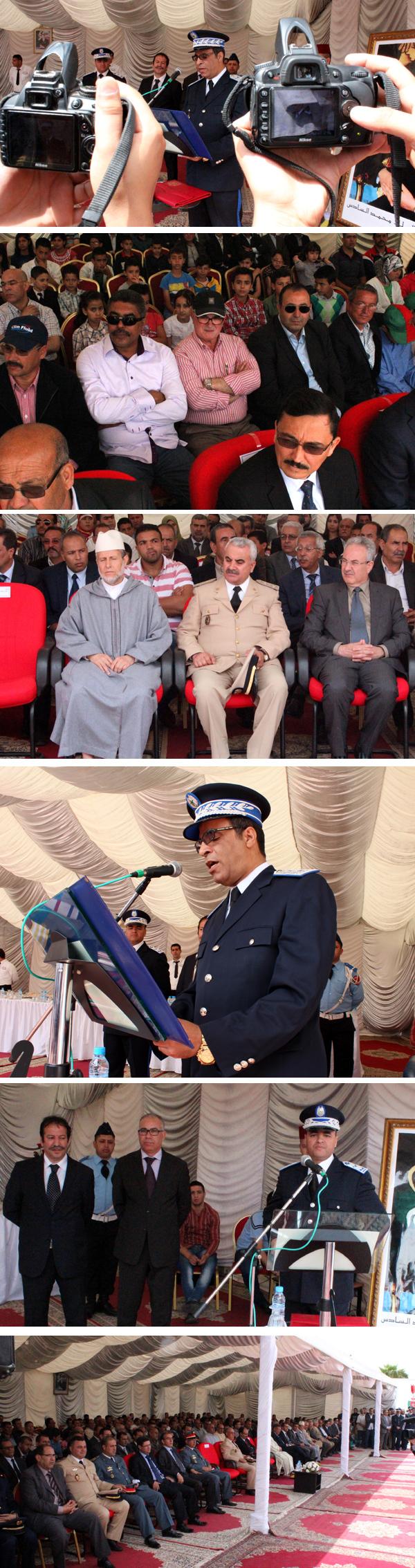 أسرة الأمن الوطني بالناظور تخلد الذكرى 58 لتأسيسها