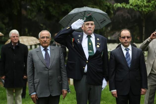القنصلية العامة للمملكة المغربية بأونفرس تخلد ذكرى إستشهاد الجنود المغاربة خلال الحرب العالمية الثانية.