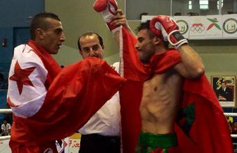 أوسطي الناظوري الذي يحصد ذهبية البطولة العربية للكيك بوكسينغ