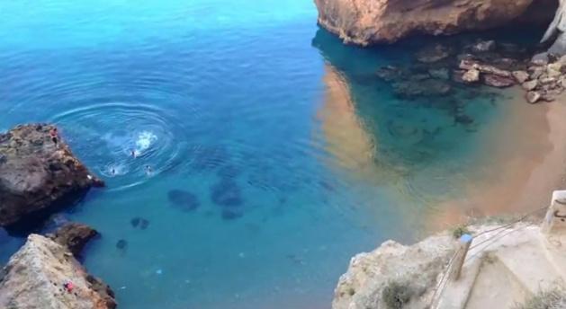 """استجمام وتوعية.. فيديو تحسيسي خاص  للحفاظ على شاطئ حامة """"أشعابي"""""""