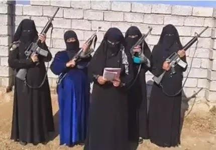 تشكيل كتيبة نسائية تبحث عن زوجات لمقاتلي داعش