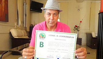 الإطار الناظوري عبد الصمد بنور يتسلم شهادة التدريب من الدرجة الثانية