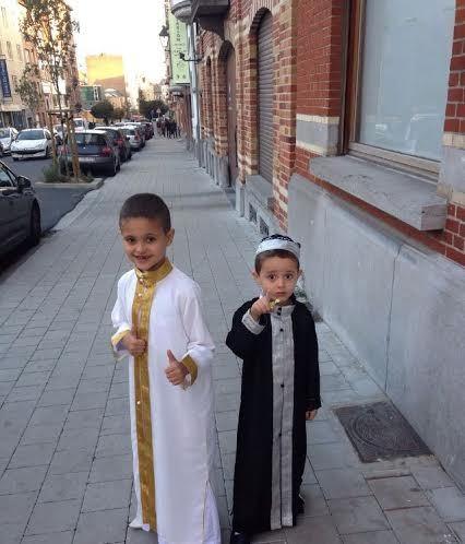مسجد عبد الله ابن مسعود ببلدية فوري ببروكسيل يحتفل بعيد الأضحى المبارك.