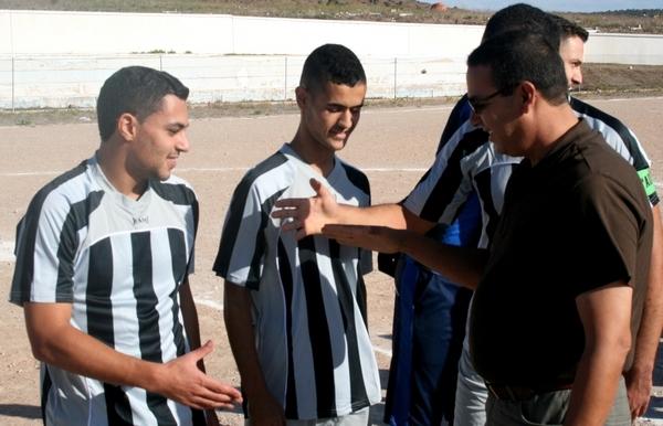 نادي ايت سيدال يتعادل وديا مع ضيفه فريق تاويمة بهدف لمثله
