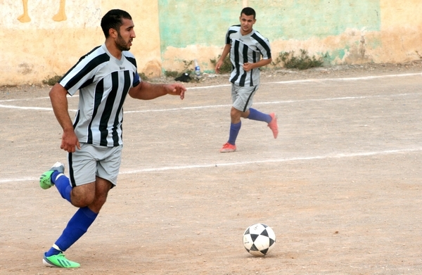 نادي ايت سيدال الرياضي يتعادل في اخر مباراة استعدادية له وذلك امام مضيفه نادي ايت سعيد
