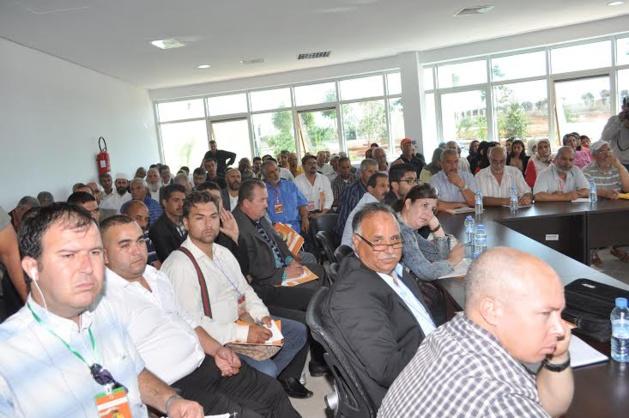 من أجل مساهمة فعالة في التنمية المستدامة ''  عمالة اقليم بركان تنظم لقاءا تواصليا موسعا