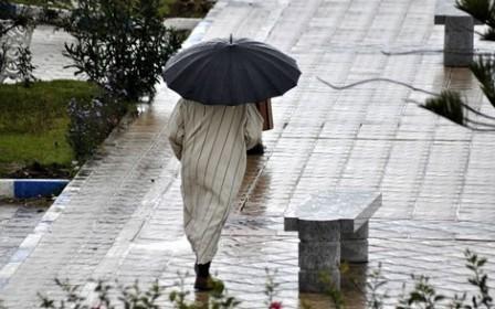 تساقطات مطرية مرتقبة بعد غد الثلاثاء في مجموعة من مناطق المملكة