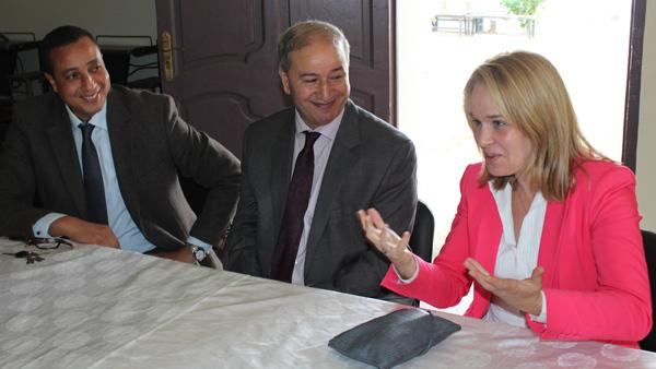 السفارة الهولندية و قنصليتها بالناظور تدعم انسانيا مركز حماية الطفولة