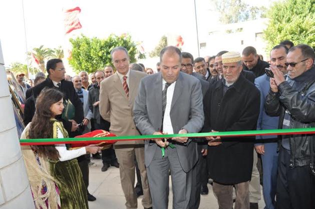 تدشين المركز التجاري الجديد لمدينة السعيدية وتسليم المفاتيح للمستفيدين تماشيا مع العناية الملكية السامية