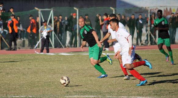 وفاق ازغنغان يزيح هلال الناظور من منافسات كأس العرش بعشرة لاعبين