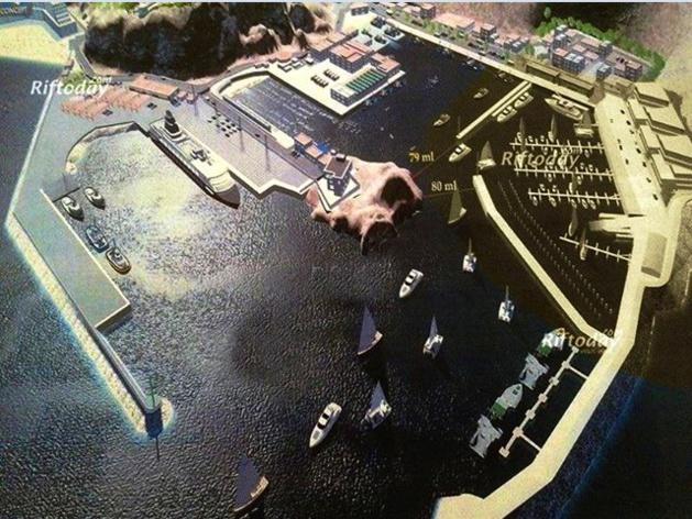 في مسألة بناء مشروع ميناء سياحي وترفيهي بميناء الحسيمة