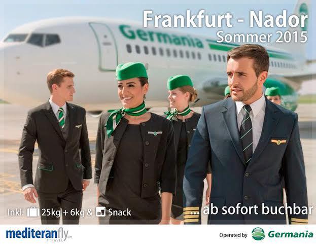 مطار الناظور – العروي يعزز بخط جديد الناظور – فرانكفورت الصيف القادم