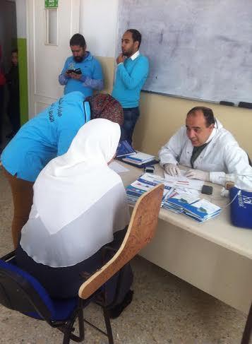 مبادرات الشباب الناظوري تختم برنامجها الصحي لسنة 2014 في مركز البركة بالناظور