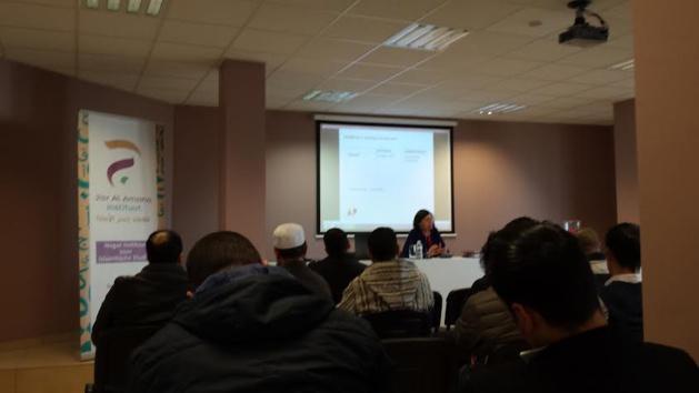 معهد جسر الأمانة للدراسات الإسلامية العليا بأنفرس ينظم حفل إفتتاحه بحضور شخصيات مهمة.