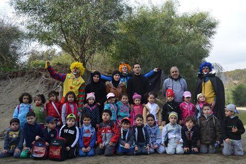 الحسيمة : 80 طفل وطفلة يحتفلون بالسنة الأمازيغية الجديدة  2965 في خليج جزيرة النكور