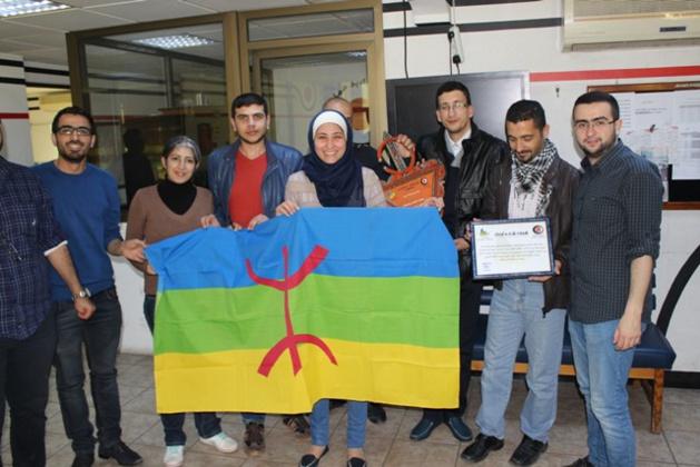 """جمعية """" إحنجارن نوزغنغان """" في ضيافة راديو البلد بالأردن"""