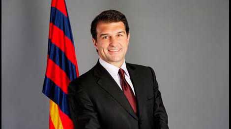 لابورتا يعلن رسميا عن ترشحه للانتخابات الرئاسية في برشلونة