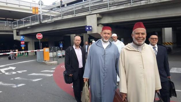 لبعثة المغربية المتكونة من المقرئين و الوعاظ و الواعظات تحل ببلجيكا لإحياء شهر رمضان المبارك.