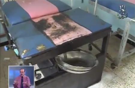 فيديو صادم:  الديدان تخرج من مستشفيات بلد الغاز و البترول؛ الجزائر