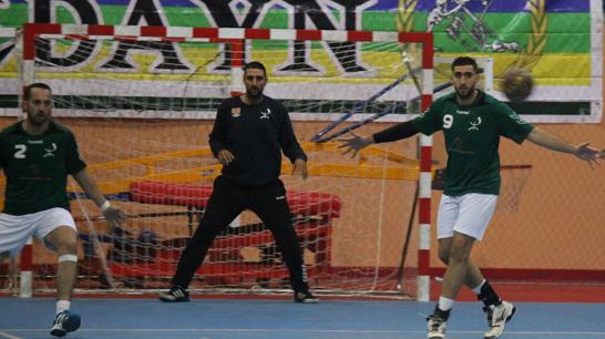 هلال الناظور لكرة اليد في الصدارة بتحقيقه لانتصاره الثالث على التوالي