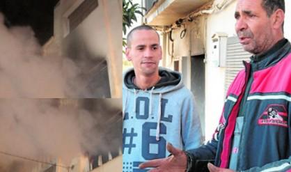 """مغربي ينقذ إسبانية من الموت والشرطة المحلية تصفه بـ""""البطل"""""""