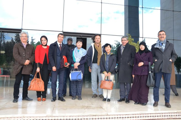 Le bureau du Conseil Régional de l'Oriental reçoit la Présidente Directrice Générale du Fonds de l'Environnement Mondial